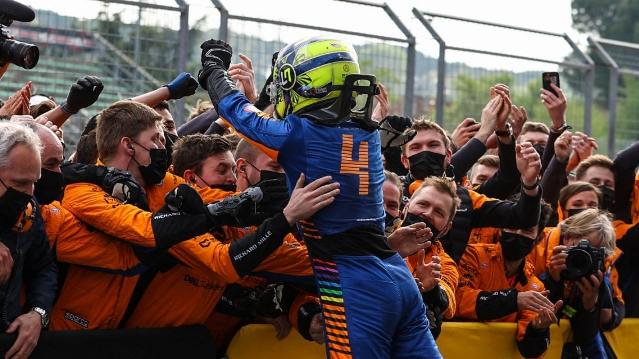 """""""He has everything in some years which is required in order to be a top driver""""– Andreas Seidl on Lando Norris"""