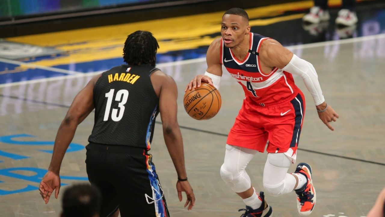 """""""James Harden is a better PG than Russell Westbrook"""": NBA analyst controversially selects the Nets star over the 2017 NBA MVP"""