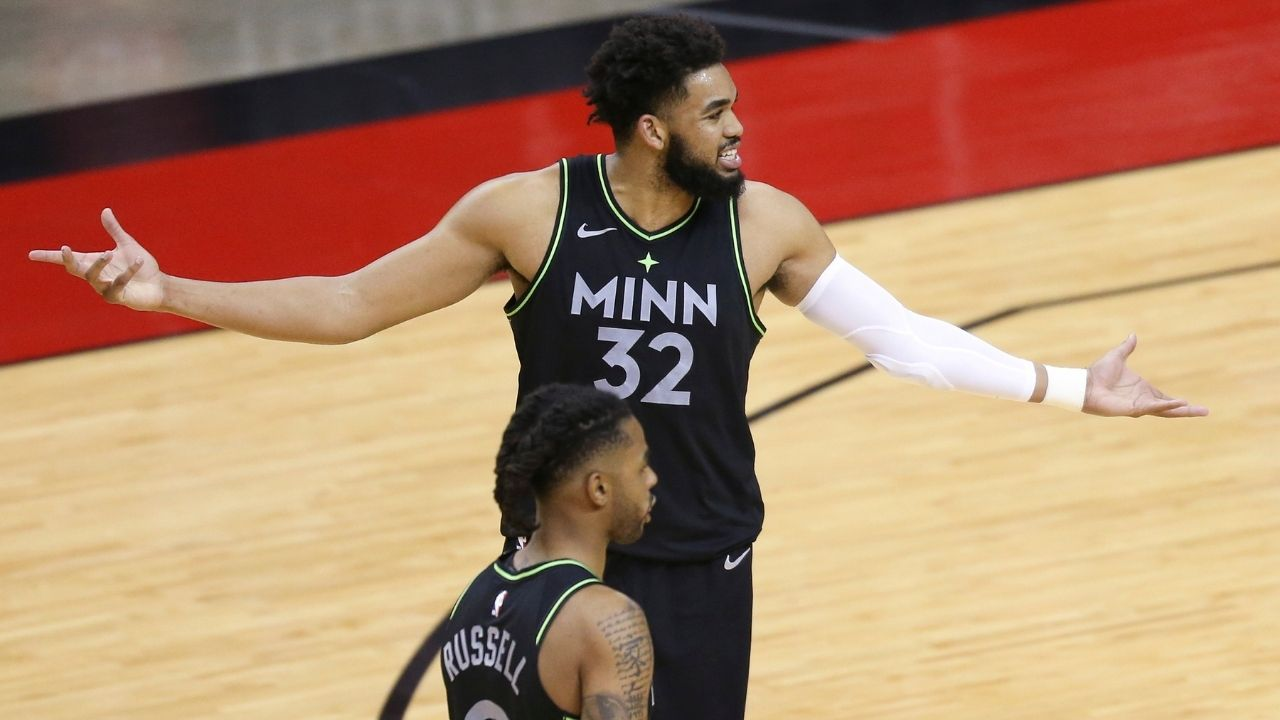 """""""Hope to have a career like Kobe Bryant and Tim Duncan"""": Karl-Anthony Towns aspires to spend his entire career with the Minnesota Timberwolves like these Lakers and Spurs legends"""