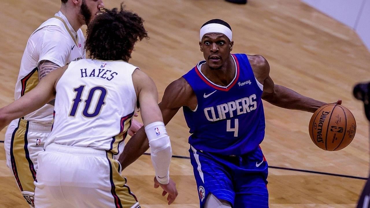 """I hope Rajon Rondo shoots a lot"": Mark Cuban jinxes Clippers star ahead of Mavericks' first round rematch with Kawhi Leonard and co"