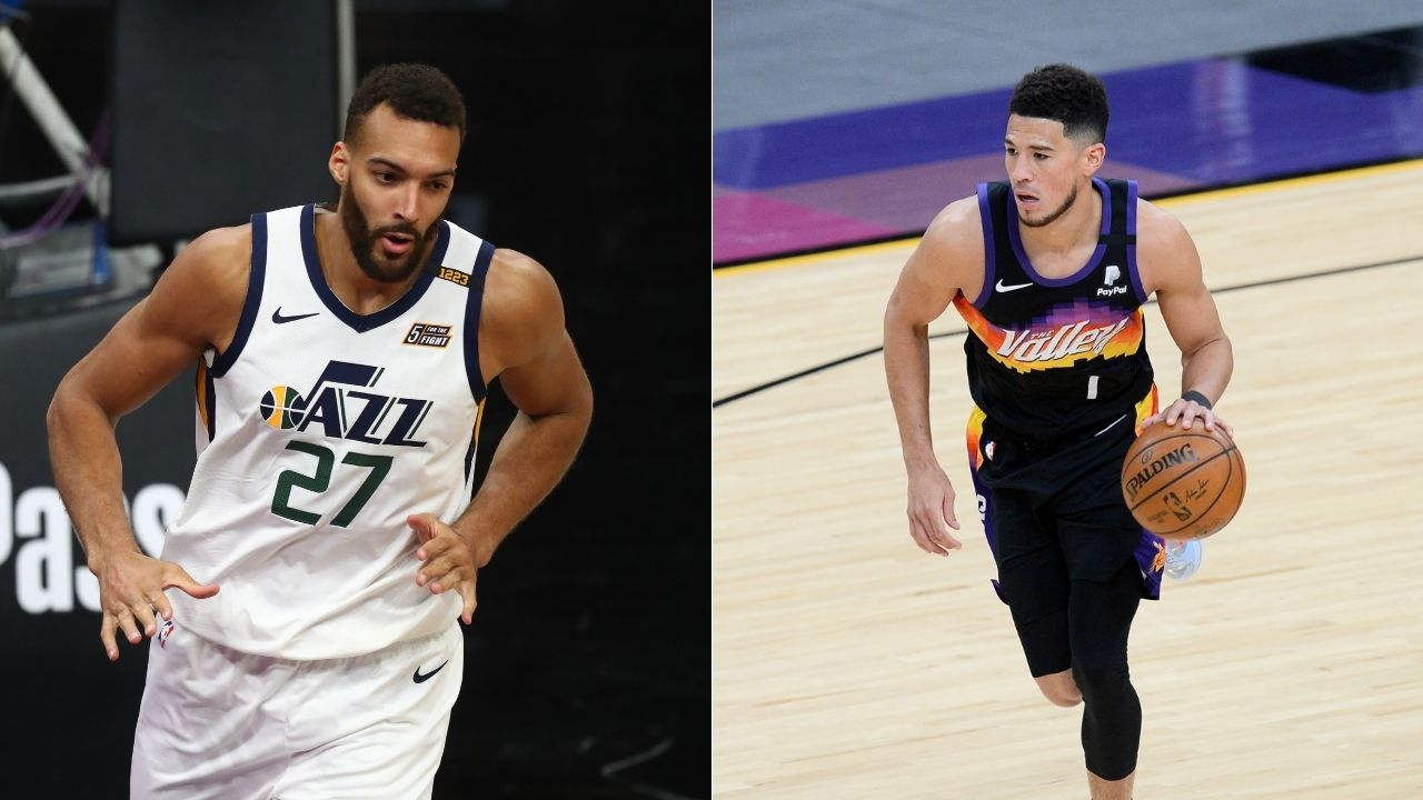 """""""Devin Booker broke Rudy Gobert's ankles"""": Suns star brutally crossed up the Jazz DPOY candidate in their 121-100 win last night"""