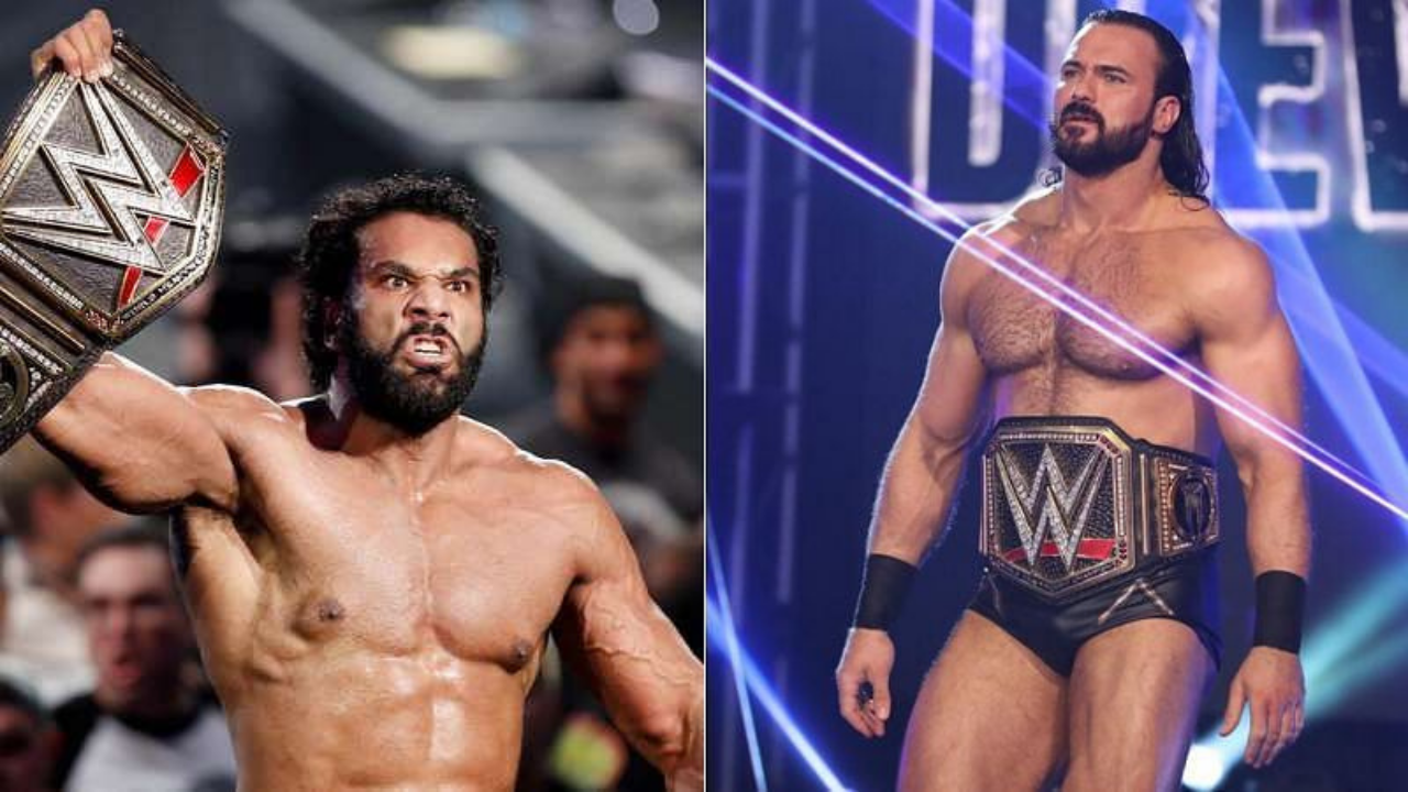 Drew McIntyre responds to Jinder Mahal'gripe about their respective WWE Championship reigns