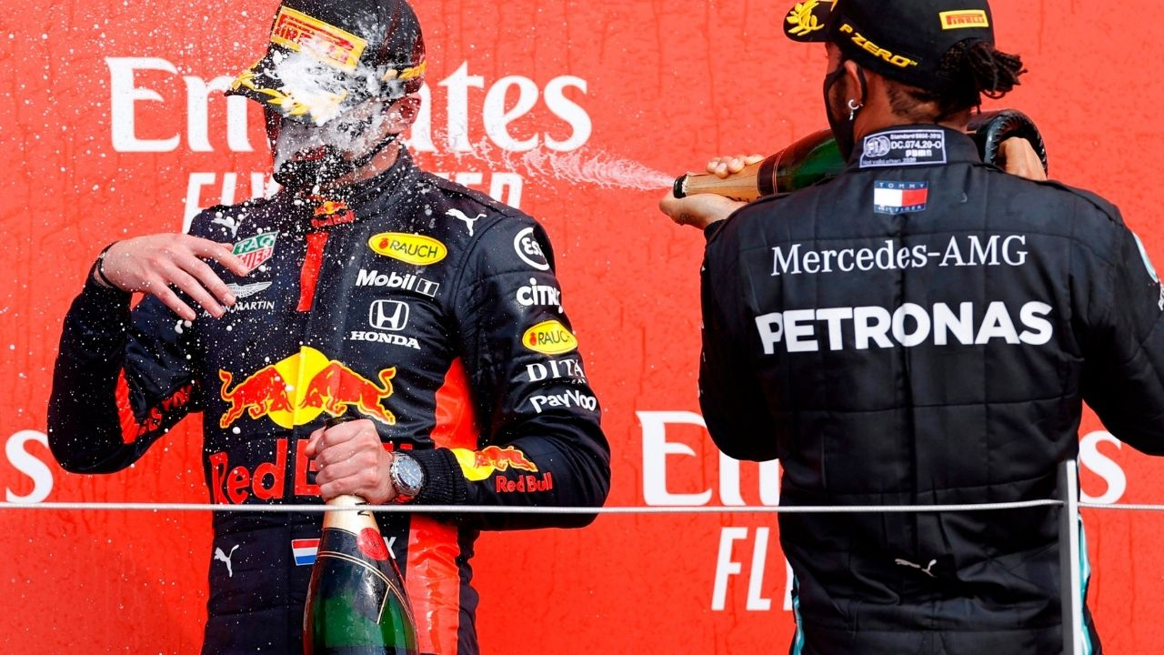 """""""Action on the track and also off the track"""" - Toto Wolff on Max Verstappen vs Lewis Hamilton"""