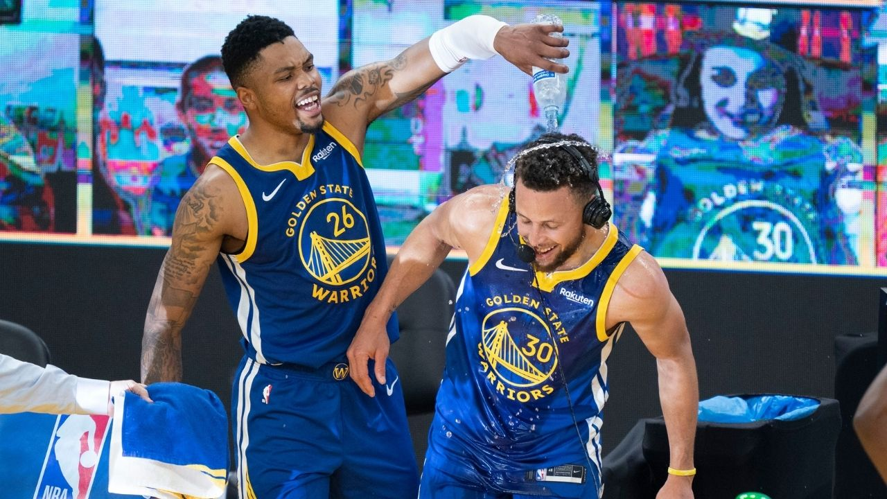 """""""It was more than just a contusion"""": Kent Bazemore accidentally slips up and reveals the true severity of Stephen Curry and his tailbone injury"""