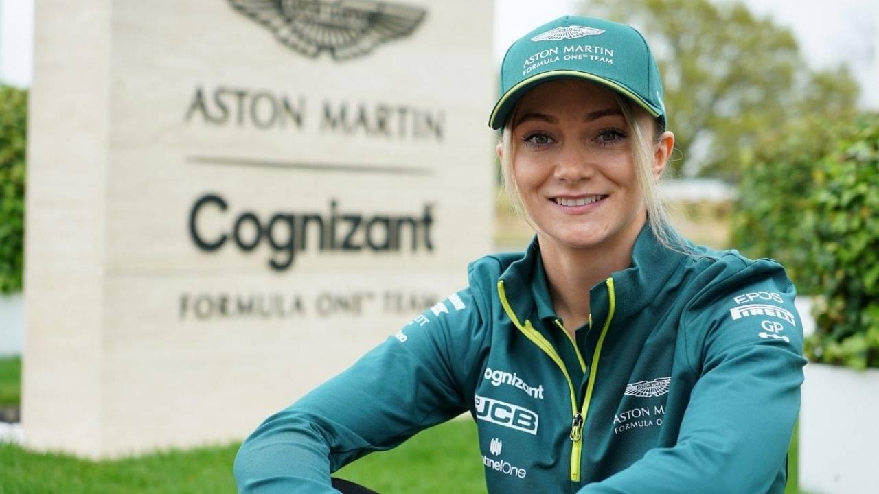"""Looking forward to working with Stroll,Vettel, Hulkenberg"" - James Bond stunt driver Jessica Hawkins appointed Aston Martin F1 team's driver ambassador"
