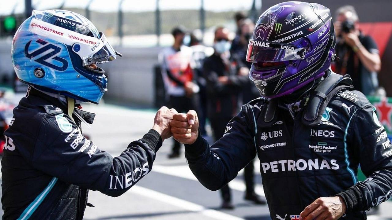 """Valtteri is in his own race""– Mercedes explain why Valtteri Bottas held Lewis Hamilton in Barcelona"