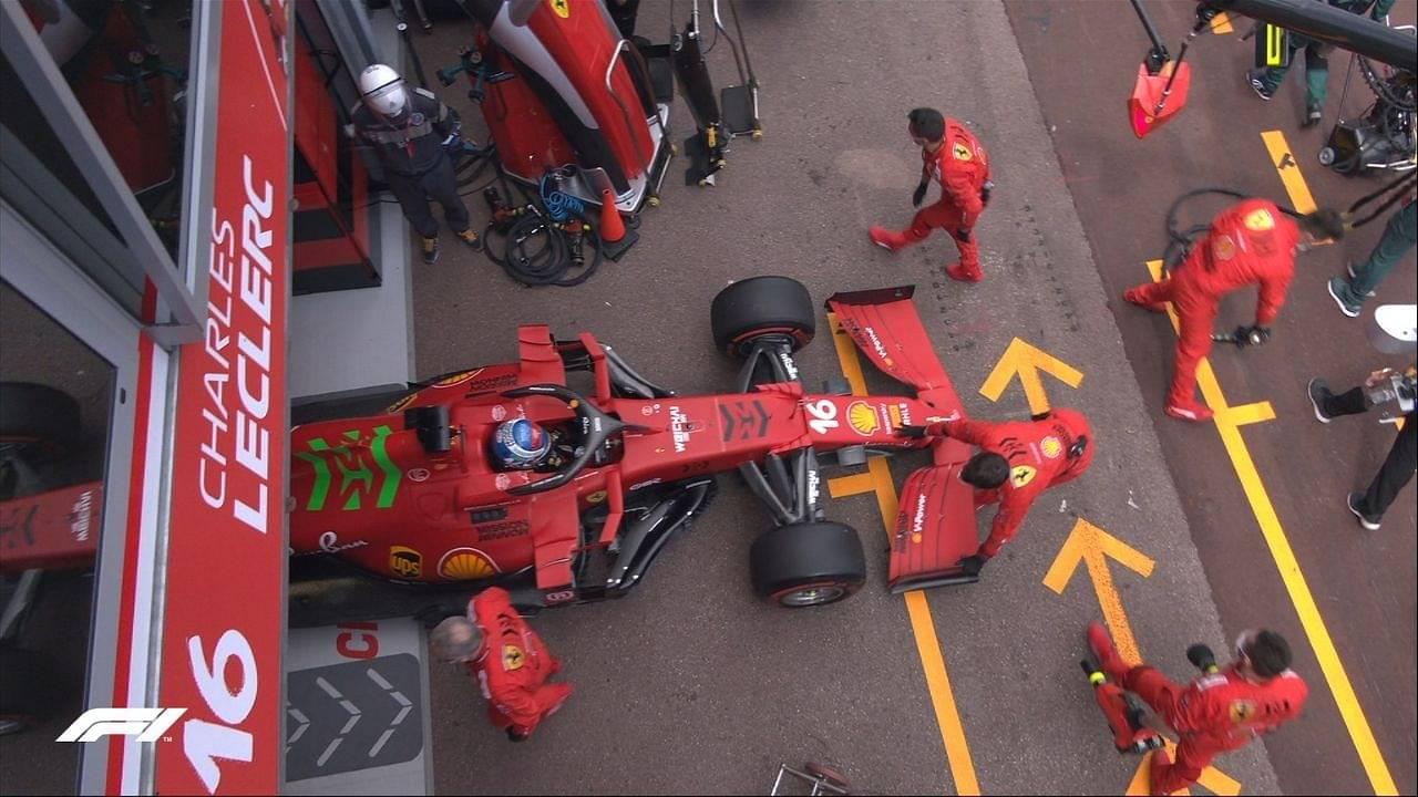 """It's not a gearbox problem""- Ferrari boss dismisses Saturday crash for Charles Leclerc exit"