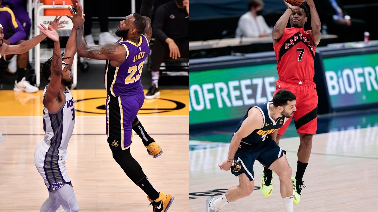 """""""How did the Lakers not trade for Kyle Lowry?!"""": Kendrick Perkins puzzled at why LeBron James didn't team up with Raptors star in Los Angeles following loss to Kings"""