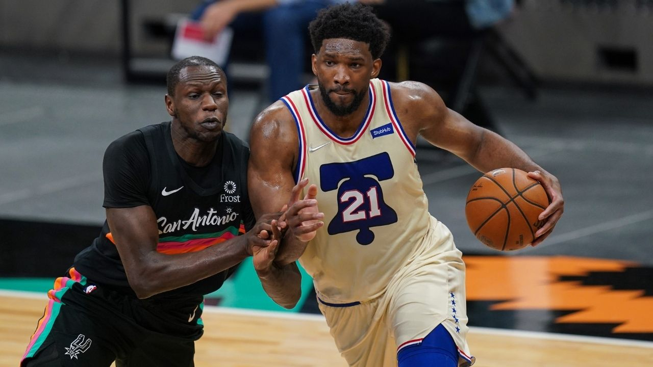 """""""Joel Embiid is elite from everywhere on the floor"""": Sixers star's unreal shot chart demonstrates his KD-like expertise from all spots"""