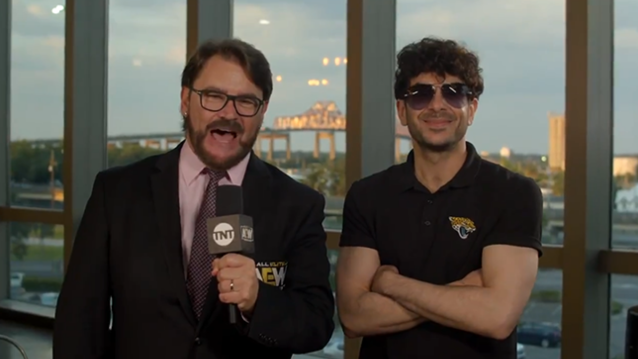Tony Khan hits out at WWE President Nick Khan following reports of talks with NJPW