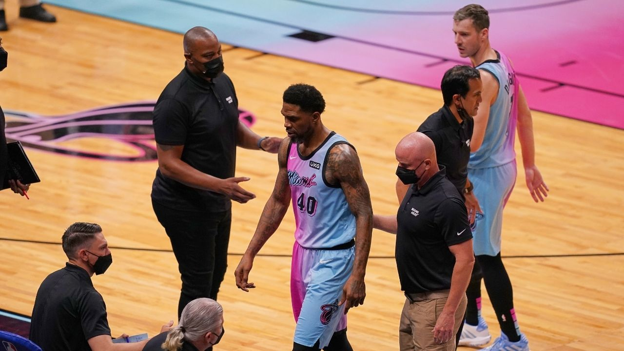"""""""I was planning on talking even more s***"""": Udonis Haslem unapologetic for his altercation that caused his ejection in Heat vs Sixers"""