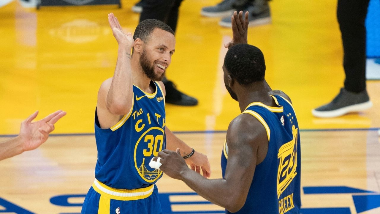 """""""We got f***ing Steph Curry"""": Draymond Green dismisses the notion of the Warriors this season being a second coming of the 'We Believe' Warriors"""