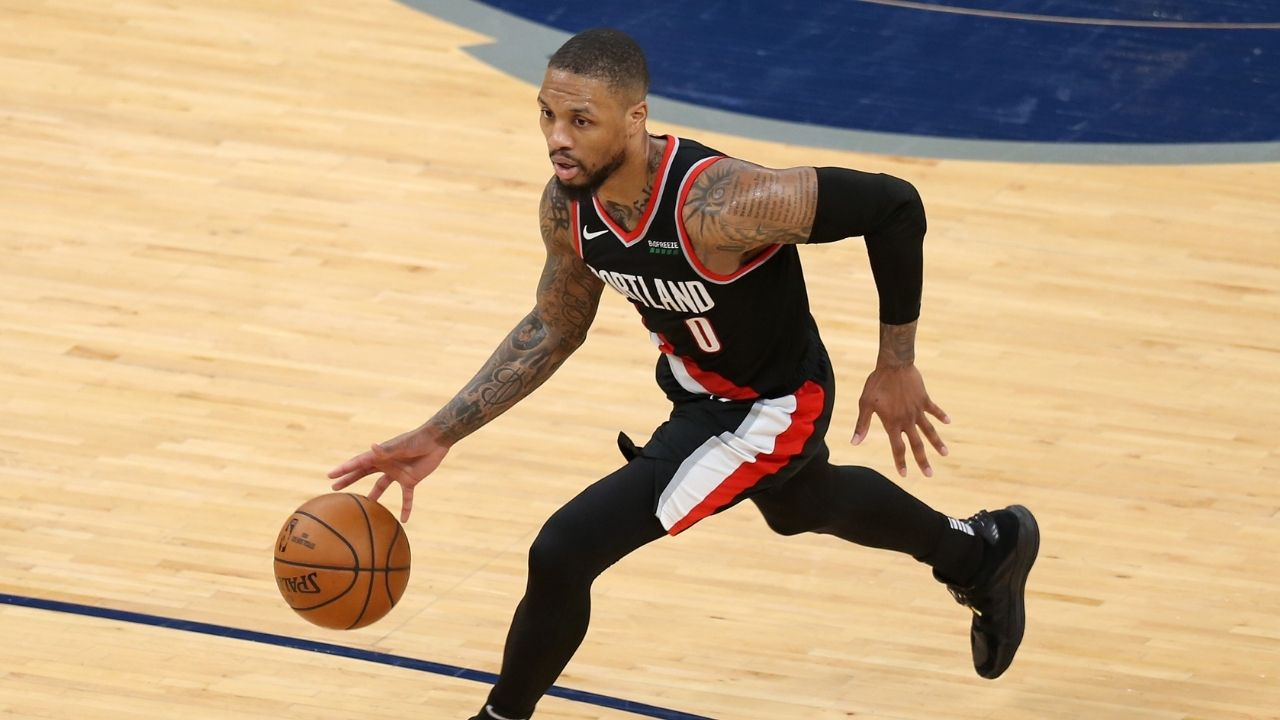 "Damian Lillard refutes reports from NBA insider that he demanded a trade from the Blazers: ""I took it for what it was, that's his thoughts"""