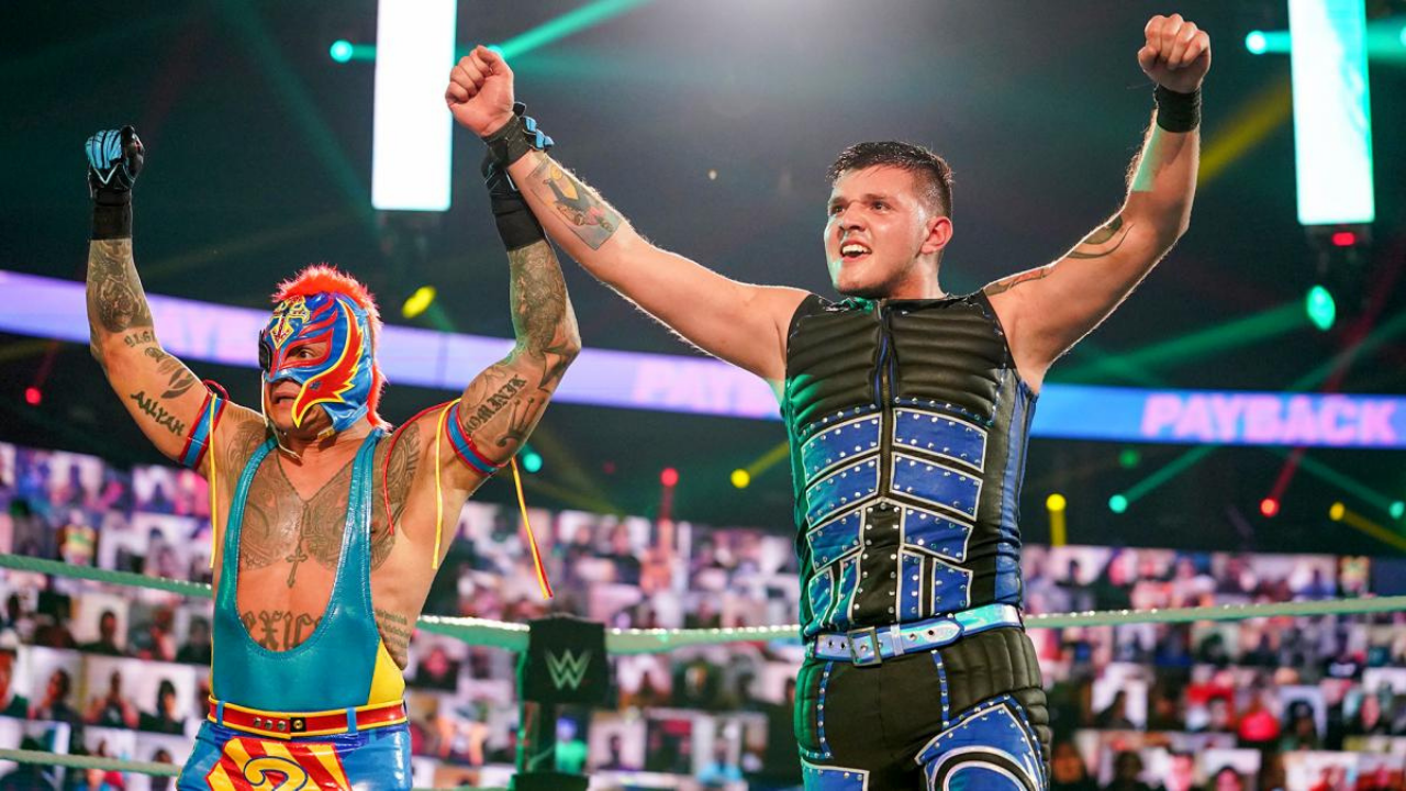 Rey Mysterio says son Dominik Mysterio could wear a mask in the future