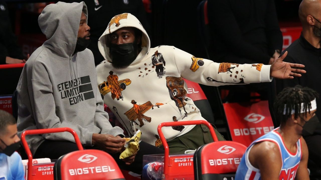 """""""Kevin Durant, James Harden and co are America's most hated"""": Brooklyn Nets overtake LeBron James and his Los Angeles Lakers as USA's most hated NBA team"""