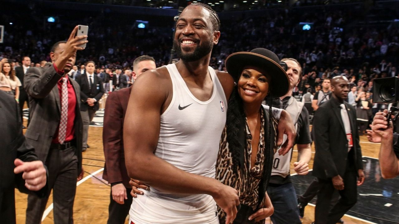 """""""Dwyane Wade thought milk costed $20 after retiring"""": When Gabrielle Union hilariously revealed that the Miami Heat superstar was taking time adjusting to retired life"""