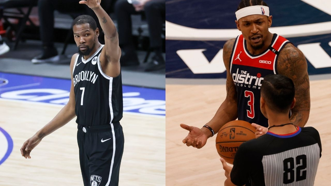 'Kevin Durant is the toughest to guard': Bradley Beal snubs Lebron James and Steph Curry for the 'best scorer in NBA' label