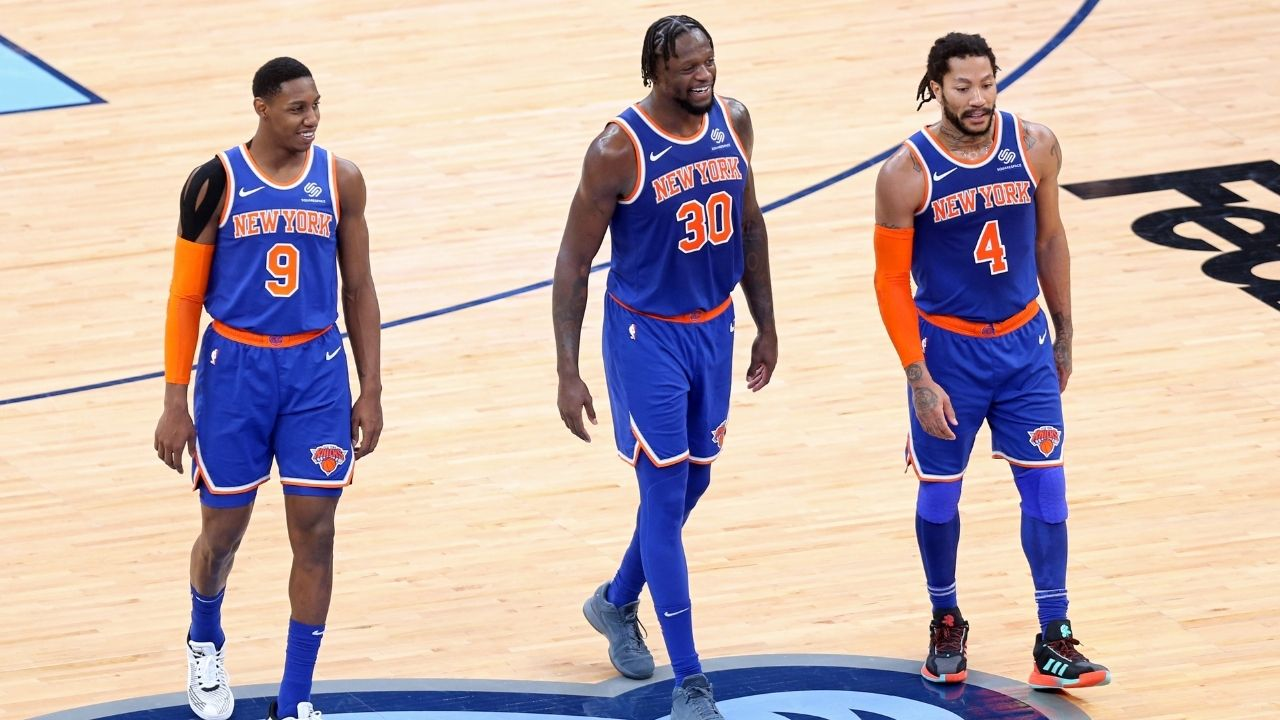 """""""New York Knicks could genuinely beat Kevin Durant, James Harden and Kyrie Irving in the playoffs"""": Pete Davidson's laughable prediction in his appearance on Stephen A's World"""