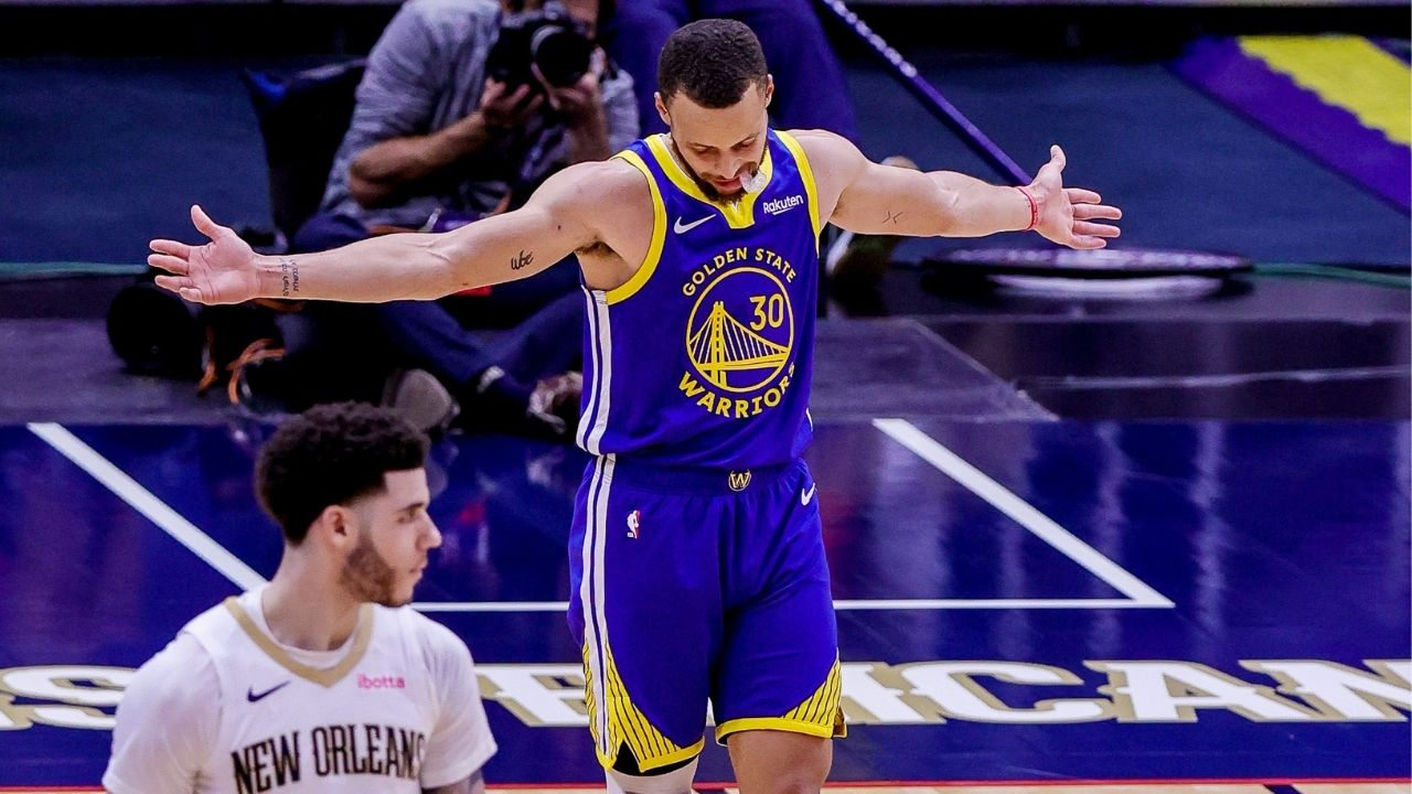 """""""Its gotta be ABS - Anybody But Stephen Curry"""": Shannon Sharpe and Skip Bayless discuss Lakers' defensive strategy against the Warriors star in play in game"""