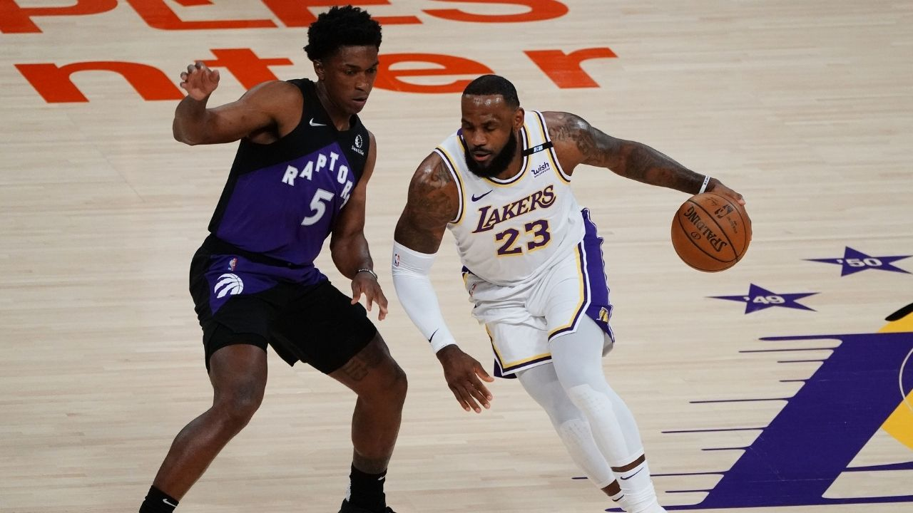 """""""If LeBron James is not healthy, the Lakers have no chance."""": Shannon Sharpe explains how much the Lakers need a healthy King in the playoffs"""