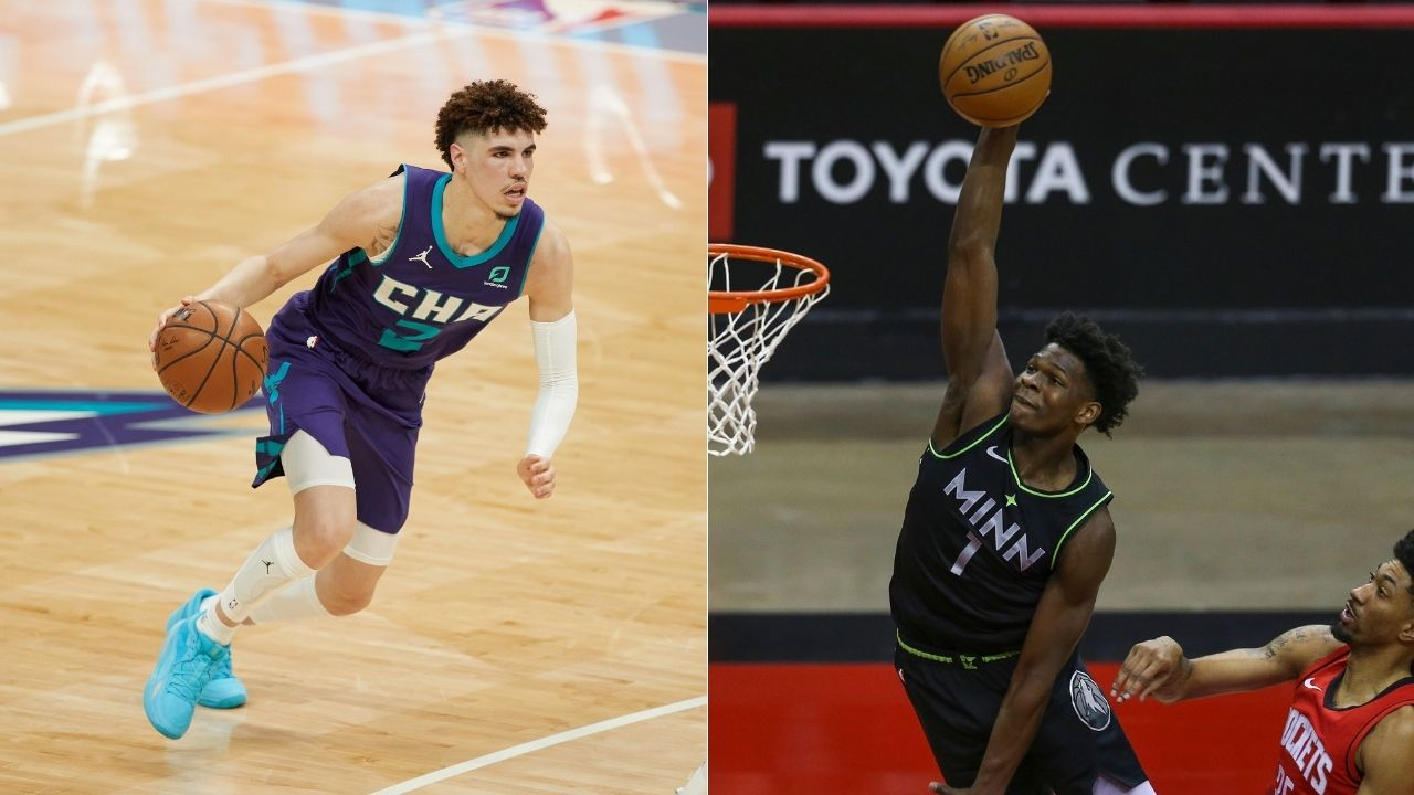 NBA Rookie of the Year: Can Anthony Edwards upstage LaMelo Ball to win Rookie of the Year honors?
