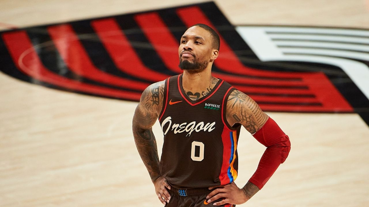 """""""We can win the 2021 NBA title"""": Damian Lillard has high aspirations for the Blazers this season ahead of first round duel against Nikola Jokic and the Nuggets"""