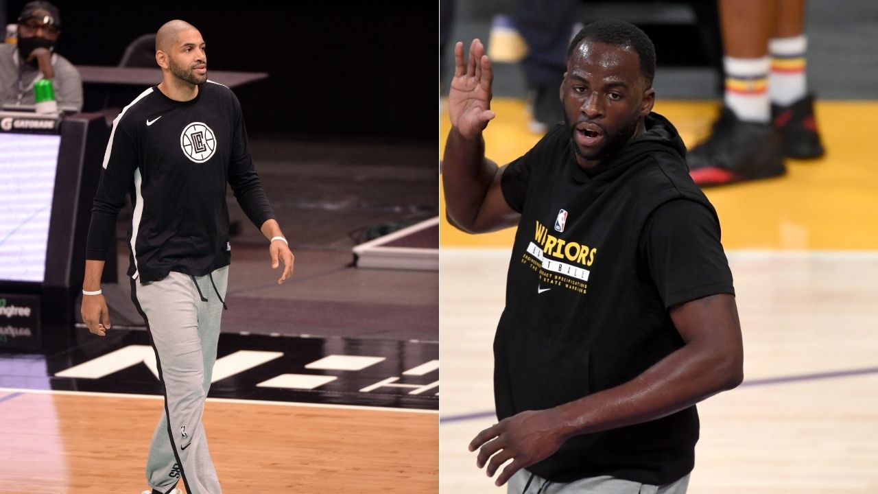 """""""Watched Draymond Green and Boris Diaw to prepare for Mavericks"""": Nicolas Batum reveals how he learnt defensive principles from the Warriors' DPOY for Game 4 vs Luka Doncic"""