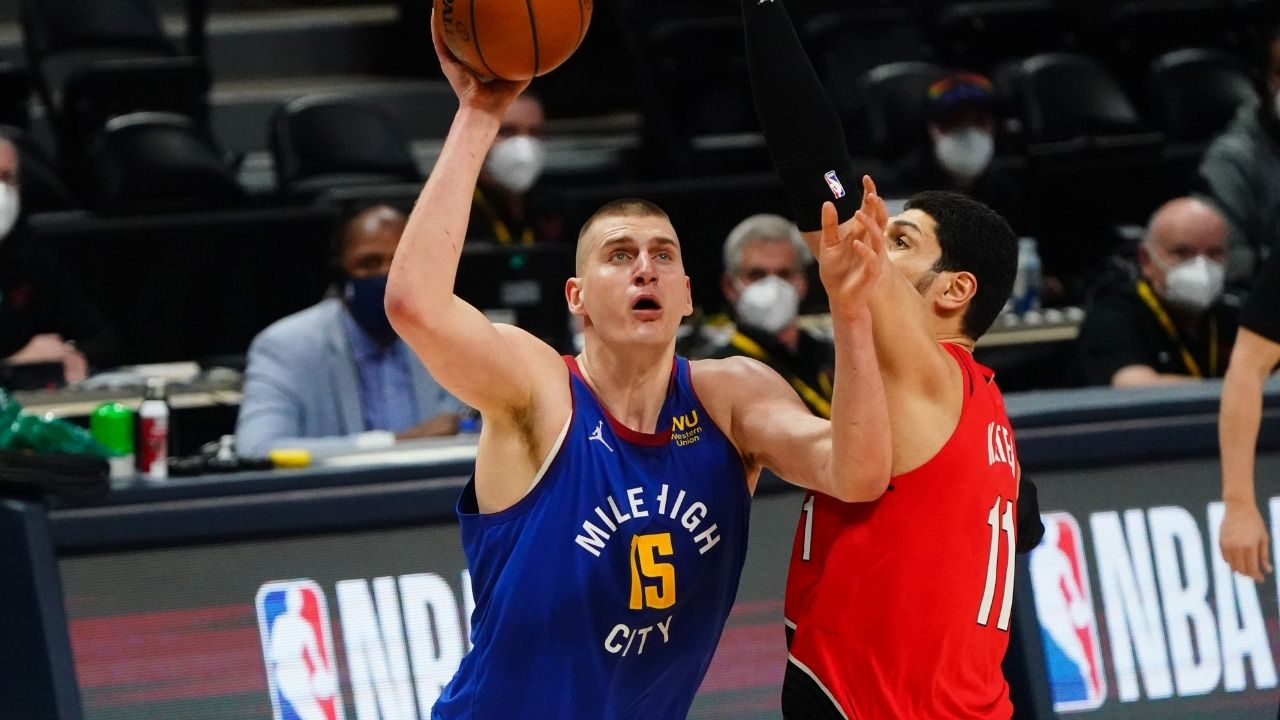 """""""Nikola Jokic is still a bad defender"""": Nuggets MVP receives criticism following blowout loss to Damian Lillard and the Blazers in Game 1"""