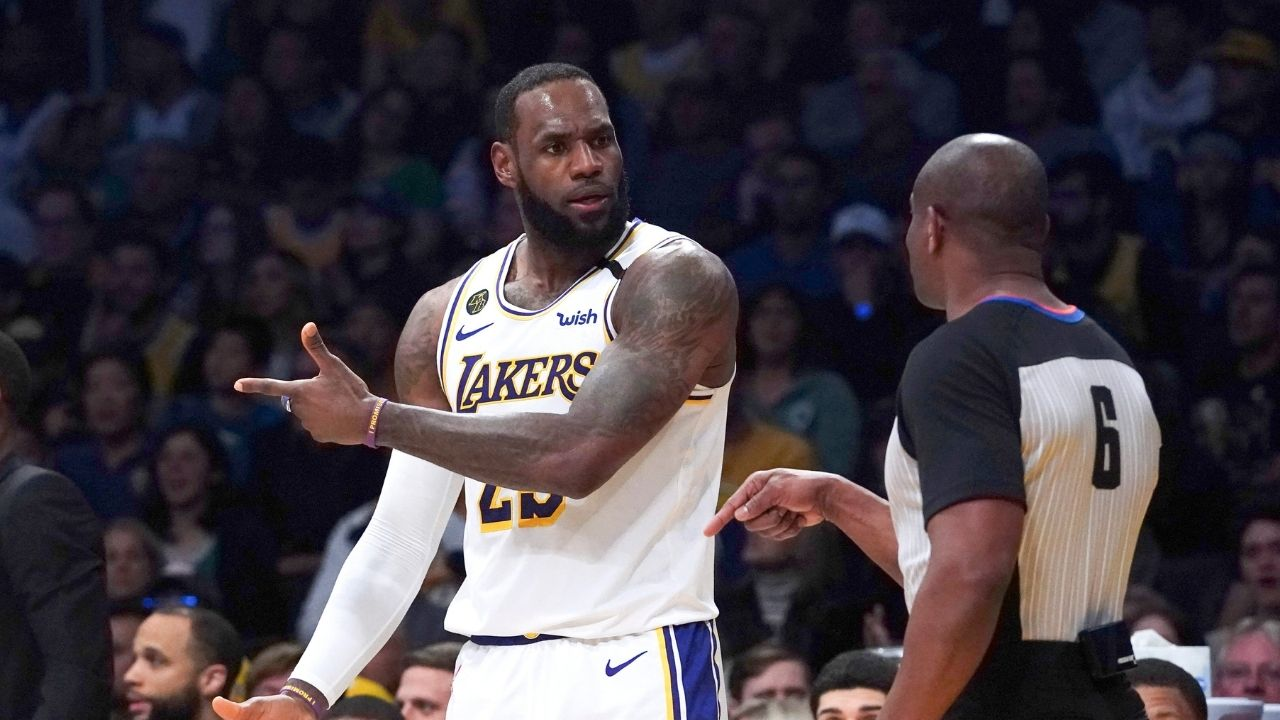 """""""LeBron James, it's now raining cats and dogs on you"""": Skip Bayless mocks Lakers star for warning NBA fans of upcoming storm"""