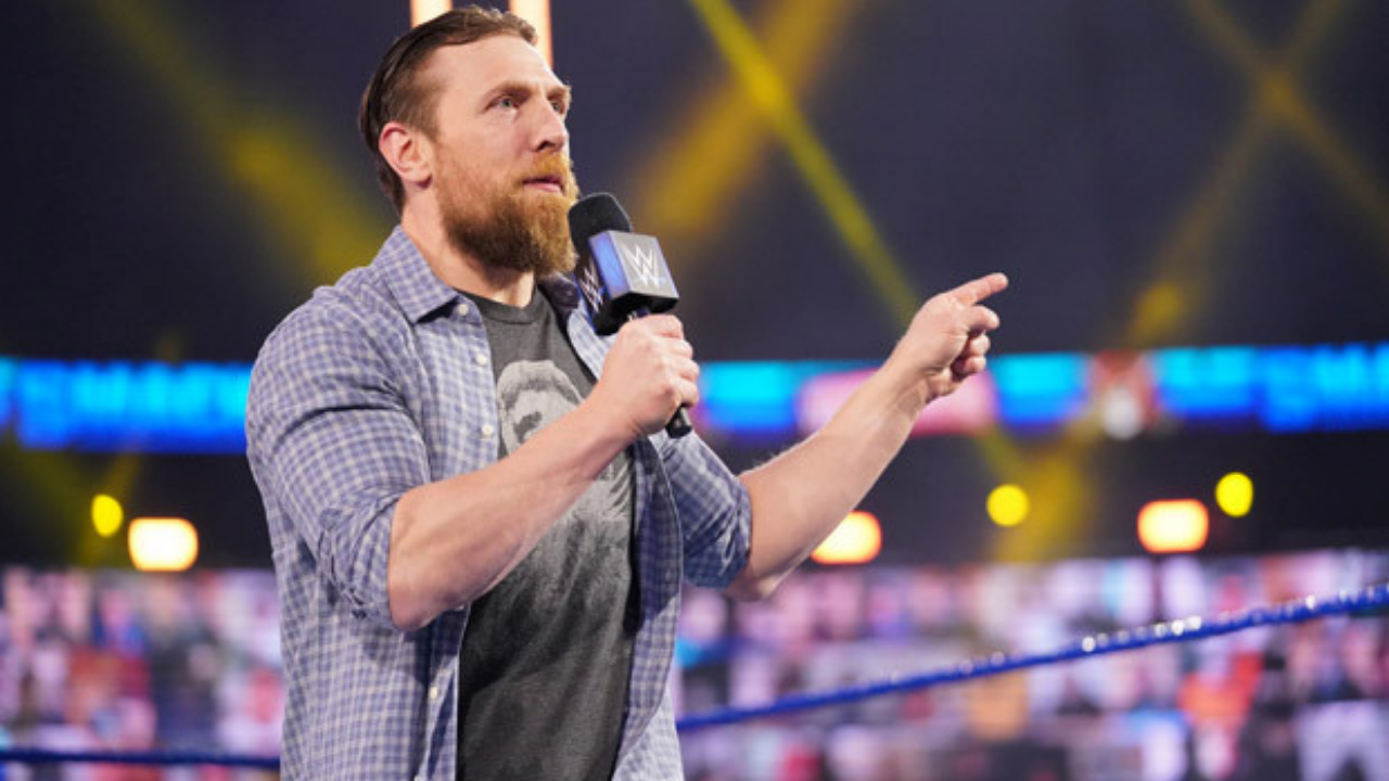 What is Daniel Bryan's contract situation with WWE