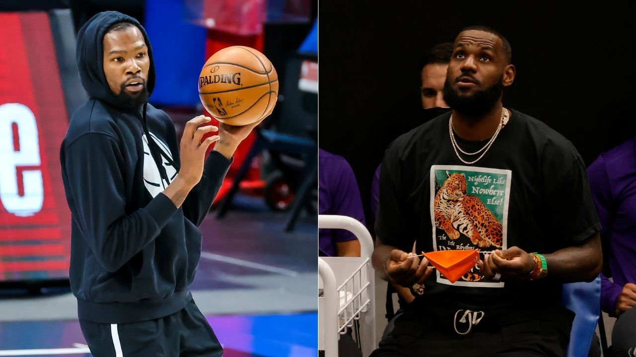 """""""LeBron James made $96 million in the last 12 months"""": Kevin Durant and the Lakers star rep the NBA in Forbes' list of top 10 highest paid sportspersons"""