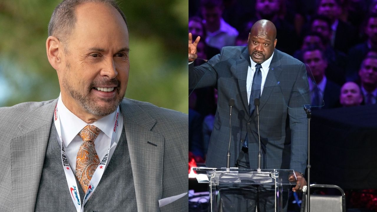 """""""Ernie didn't have to do Shaq like that"""": NBA Fans react to EJ subtly roasting the Lakers legend while commenting on Nuggets' Shaq Harrison"""