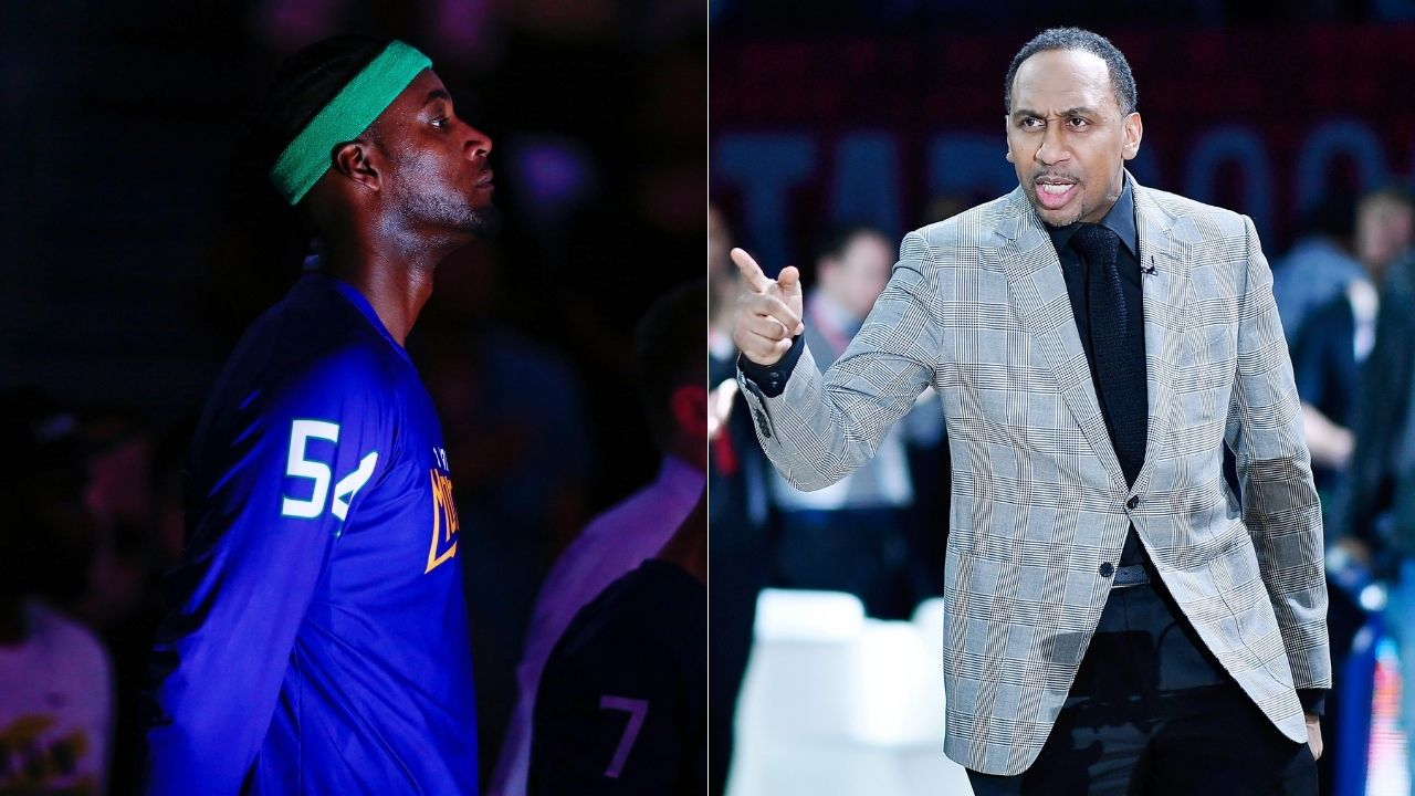 """""""Kwame Brown will not be alone"""": Jason Whitlock lambasts Stephen A Smith for his pointless lowlights video of the former Lakers forward"""