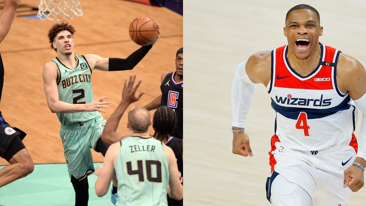 NBA play in tournament matchups: Who will Hornets'LaMelo Ball and Wizards' Russell Westbrook face off against in the play in tournament