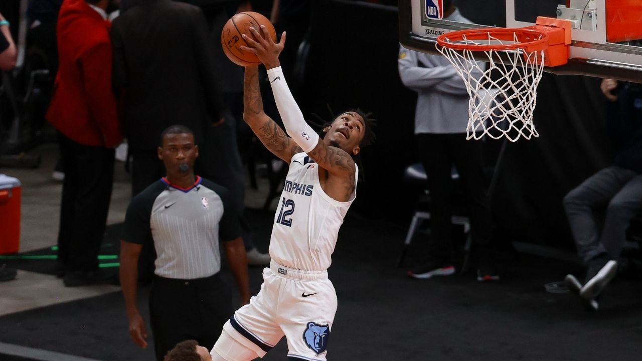 """""""Ja Morant scores 47 points, passes Kareem Abdul-Jabbar and Luka Doncic"""": Grizzlies youngster seals NBA playoff record vs Rudy Gobert and co in Game 2"""