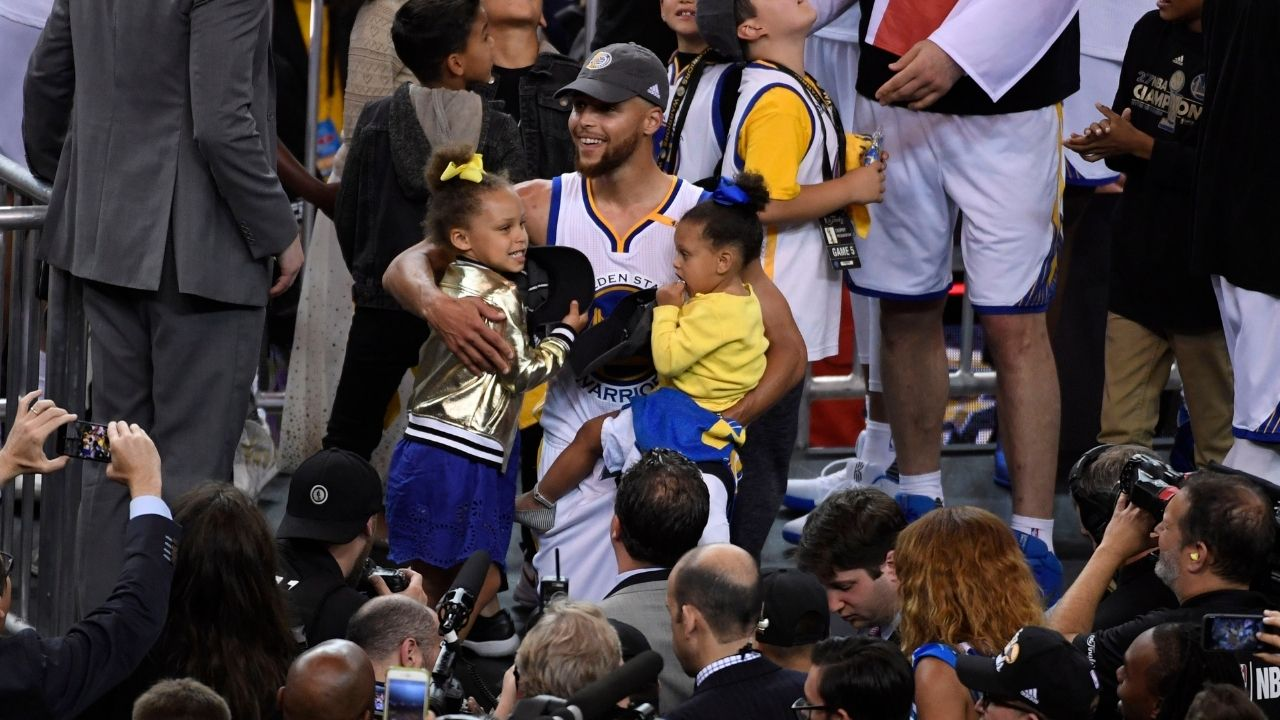 """""""Riley picked the Under Armour shoe"""": Warriors legend Stephen Curry reveals how his daughter helped him choose what company to sign a contract with"""