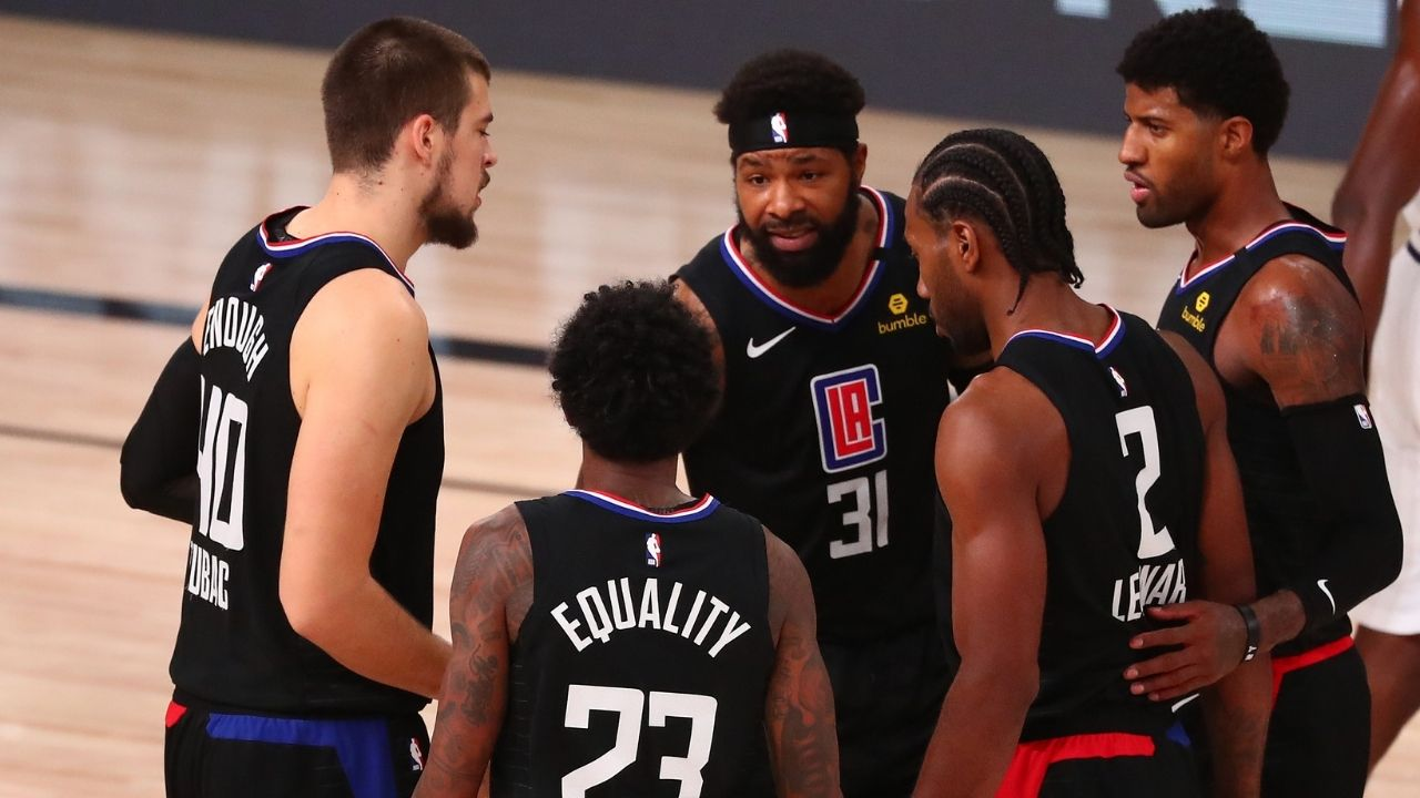 """""""Los Angeles Clippers, you should be ashamed!"""": Stephen A Smith berated Paul George, Kawhi Leonard and co for tanking the final two games of the season"""
