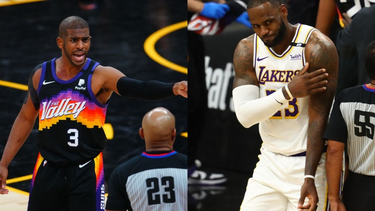 """""""The Lakers are extremely lucky"""": Stephen A. Smith claims LeBron James and co are fortunate Suns star Chris Paul is injured"""