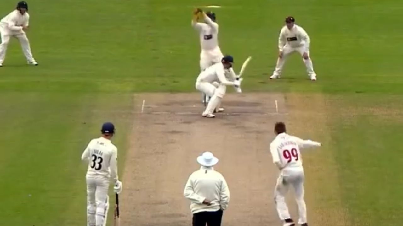 """""""Missed this from Marnus"""": Marnus Labuschagne bowls bouncer in Lancashire vs Glamorgan County Championship match"""