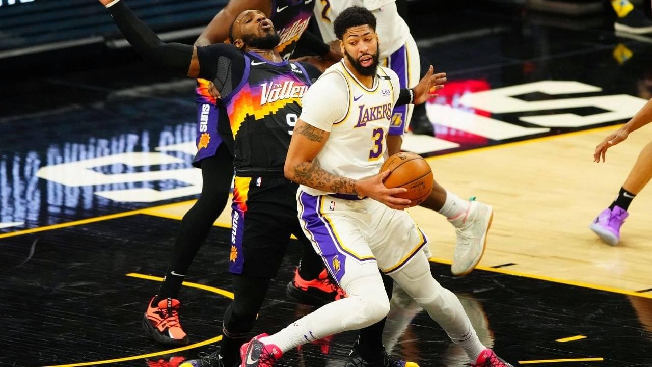 """Anthony Davis won a fake ring"": Suns forward Jae Crowder appears to subtly take shots at Lakers' 2020 championship ring"
