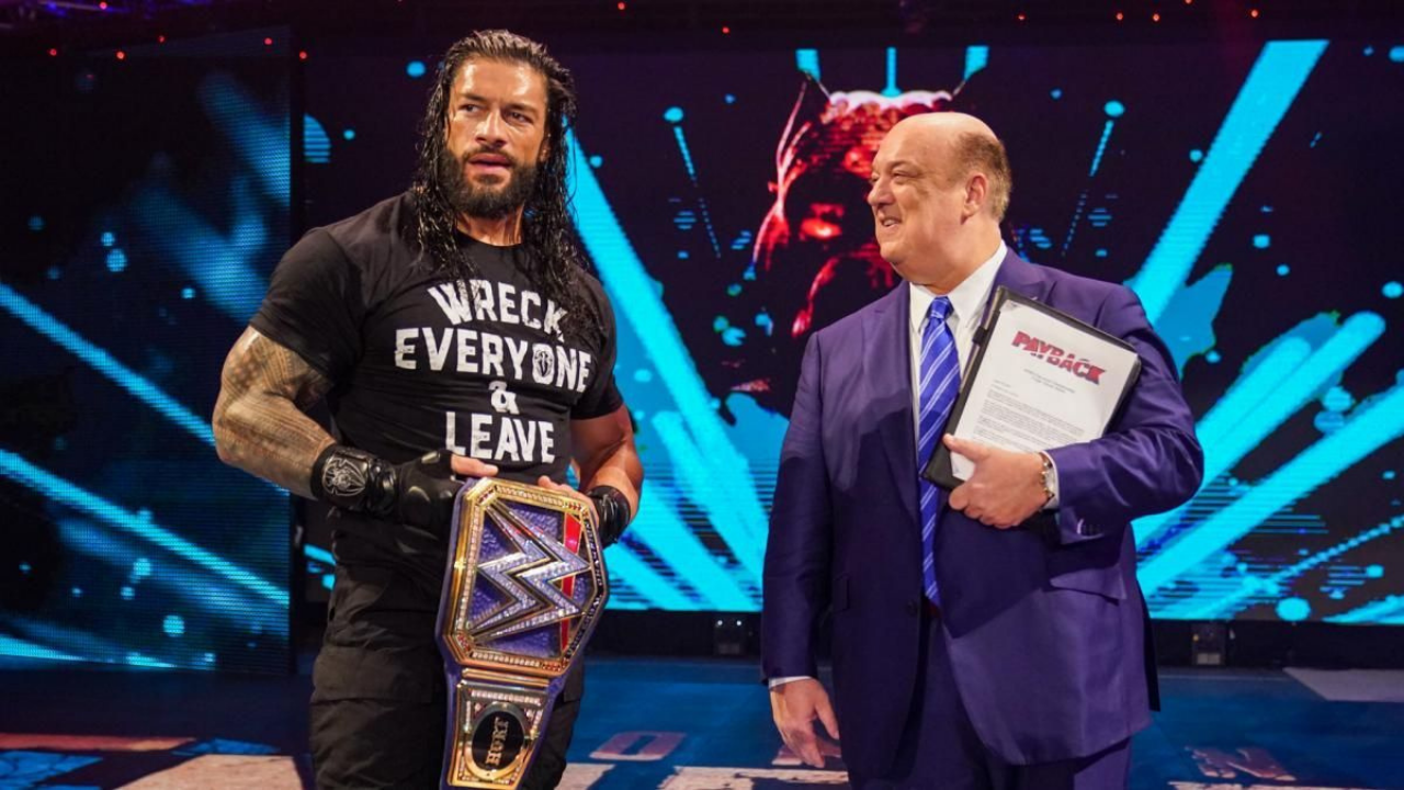 Paul Heyman taunts former WWE Champion