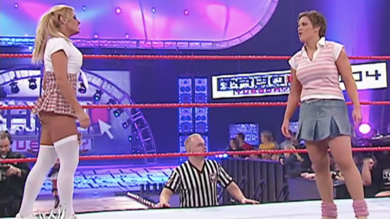 Molly Holly recalls WWE agent asking her to motorboat Trish Stratus