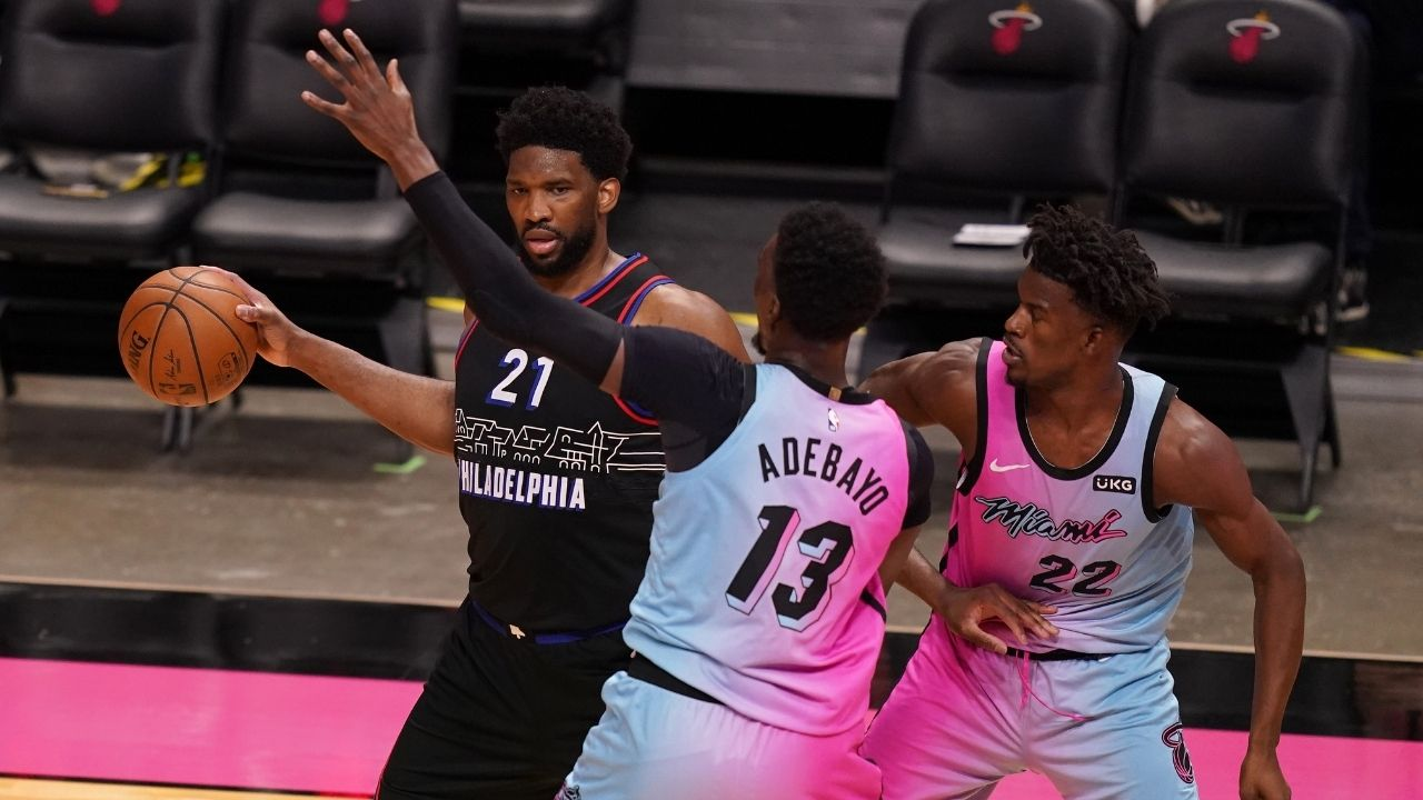 """""""Bam Adebayo was locking up Joel Embiid"""": How Heat DPOY candidate imposed his will on Sixers' MVP candidate"""