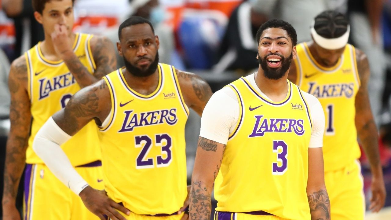 """""""I got vaccinated for my personal reasons"""": Anthony Davis throws shade at LeBron James and Dennis Schroder"""
