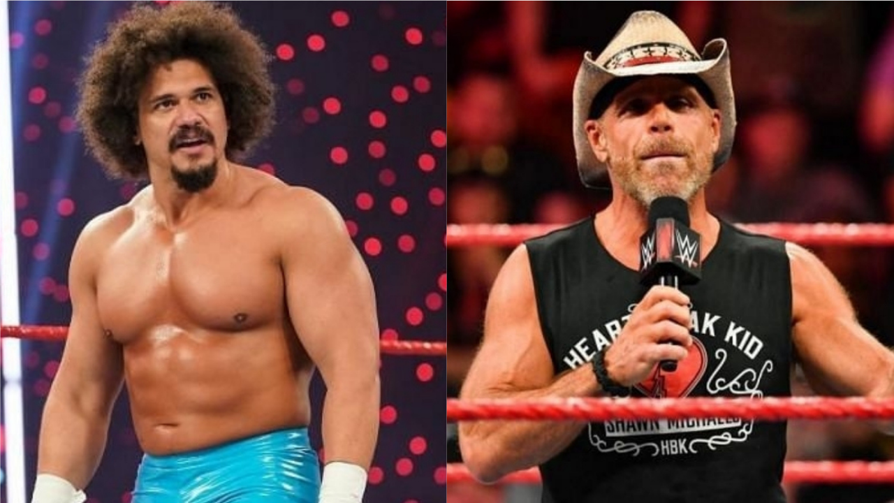Carlito discusses real life heat with Shawn Michaels