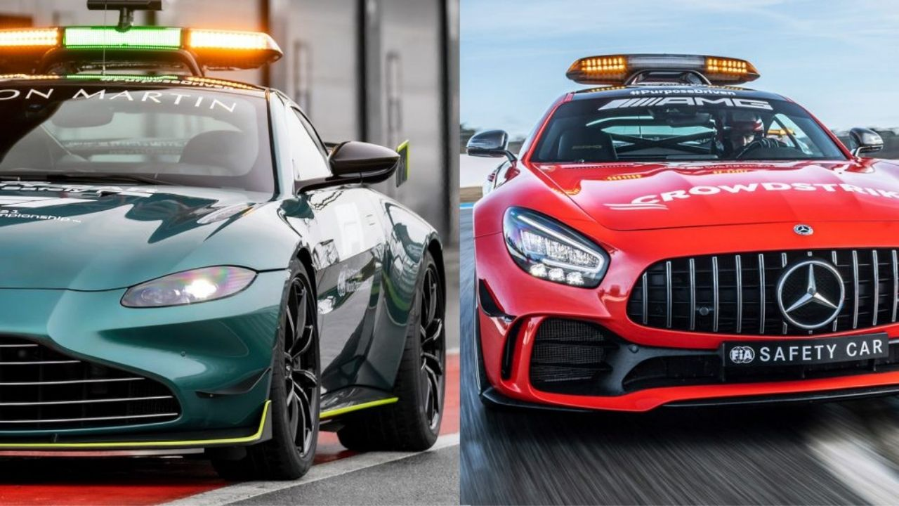 F1 Safety Car 2021 : Everything you need to know about the Mercedes and Aston Martin F1 Safety Car