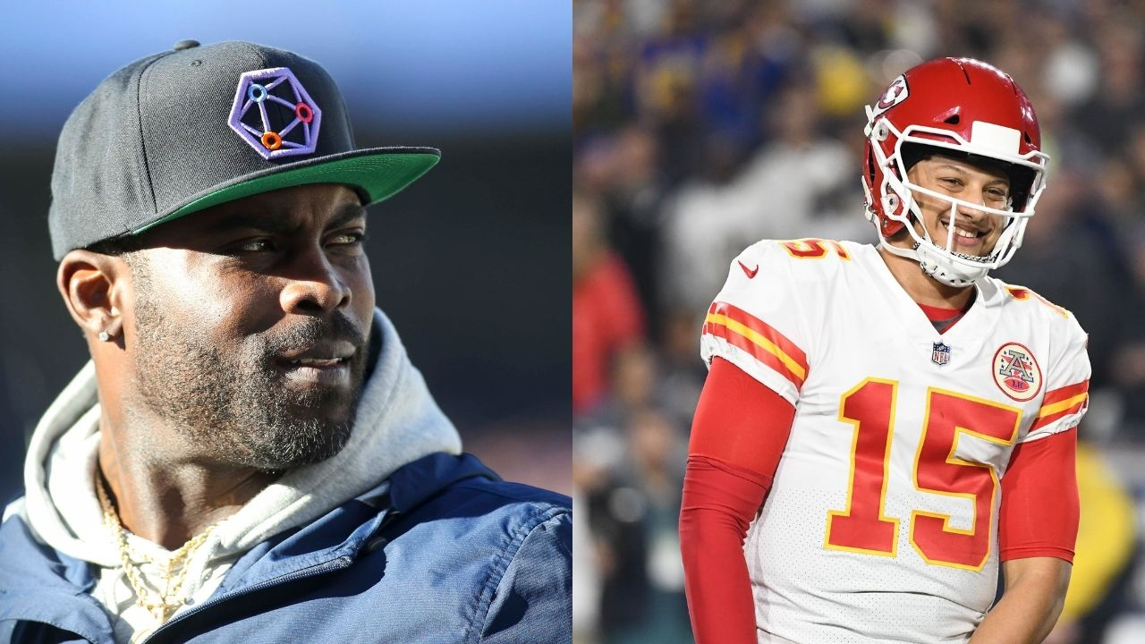"""""""Michael Vick is still faster than me"""": Patrick Mahomes reacts to former NFL Quarterback running a 4.72 40-yard dash at 42 years old"""