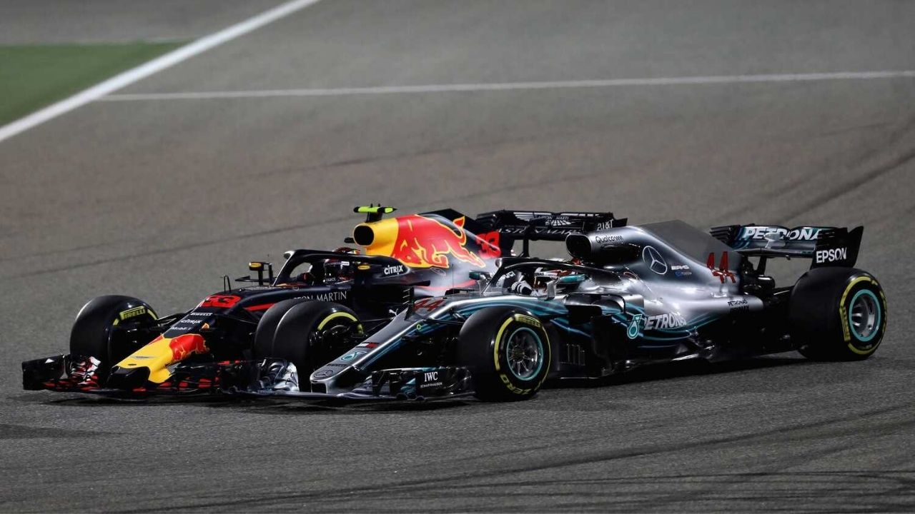 """""""If I was in his car I would be driving two tenths faster than him""""– Max Verstappen wants Lewis Hamilton to stop whining"""