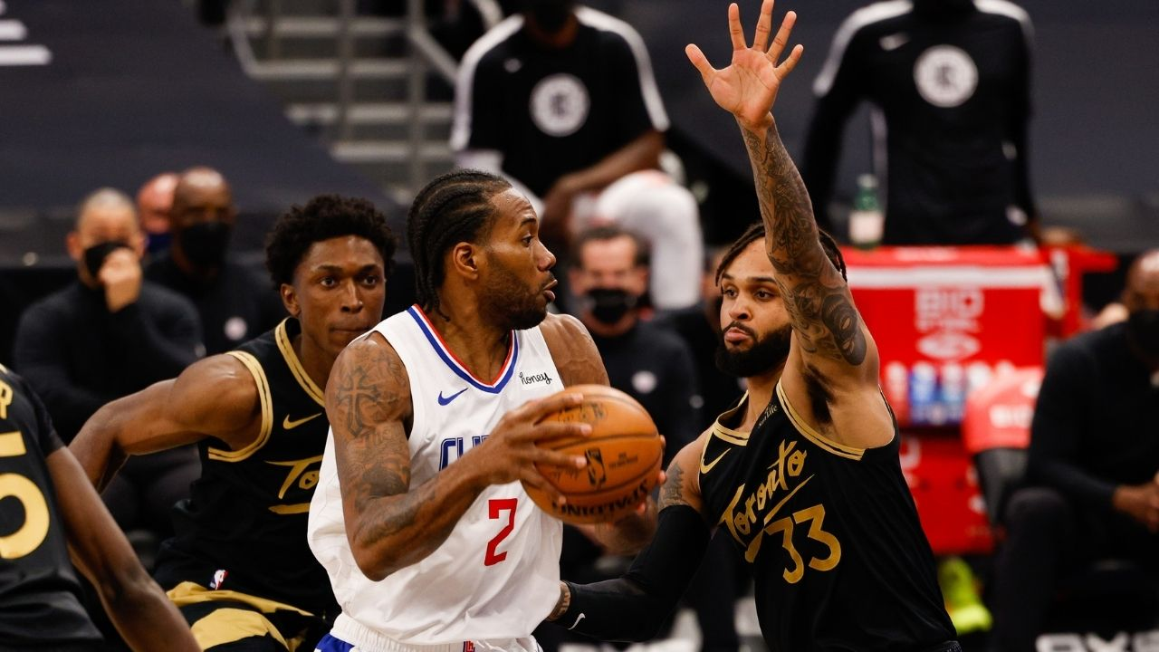 """""""If LeBron James or Kevin Durant had this statline, we'd be asking questions"""": Shannon Sharpe wants to know why Clippers stars Kawhi Leonard and Paul George are being spared NBA Twitter's blushes this year"""