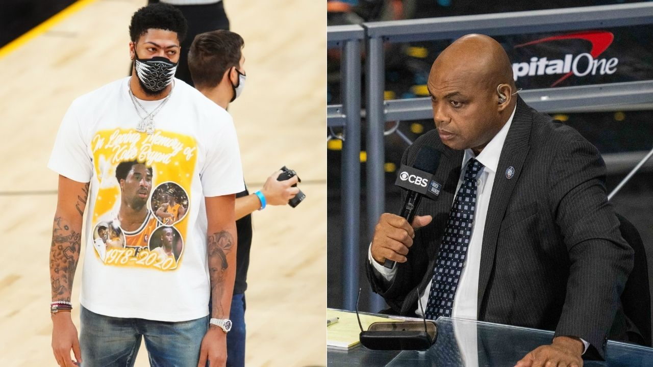 """""""For Anthony Davis to always be hurt, he's doing something wrong """": Charles Barkley expresses concerns over Lakers star's chronic injury issues after Suns win Game 6"""